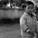 Boy With Frowning Face @ Laos