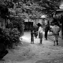 A Street In Ban Xang Hai
