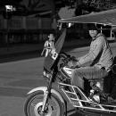 Driver Of A Jumbo @ Laos
