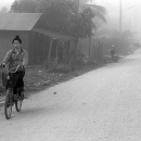 Woman Heading For The Market @ Laos