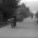 Delivering Motorbike @ Laos