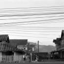 Electrical Wires In The Main Street Of Muang Sing @ Laos