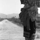 Woman On The Unpaved Road