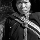 Woman Wearing An Ethnic Costume @ Laos