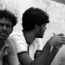 Two Stubble-faced Men By The Wayside @ Sri lanka
