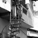 Naked Boy On The Spiral Steps @ Sri lanka