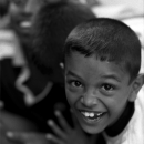 Jolly-looking Face Of A Boy @ Sri lanka