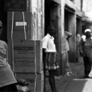 Man In The Wholesaler Street @ Sri lanka