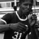 Man Posing Like A Boxer @ Sri lanka