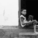 Eagle-eye Boy Was Sitting @ Sri Lanka