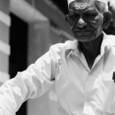Man With A White Taqiyah @ Sri lanka