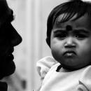 Baby With A Bindi @ Sri lanka
