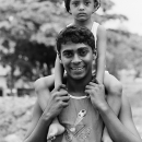 Boy On The Shoulder @ Sri lanka