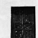 Wooden Door In The Fort