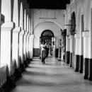 The Light Comes Into The Hallway @ Sri Lanka