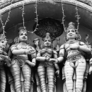 Deities Are Standing @ Sri Lanka