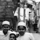 All Of Them Wear Same White Caps @ Sri lanka