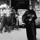 Woman In Black Chador