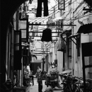 Kids Play In The Dim Alleyway @ China