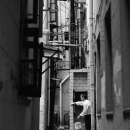 Man With A Bucket In The Alleyway @ China