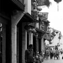 Man Looks Back In Shantang Street