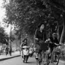 People Commuting By Bicycles @ China