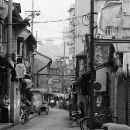 Street In The Old City Of Shanghai