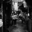 ソウルの薄暗い路地