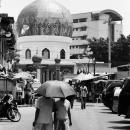 マニラ・ゴールデン・モスクと傘