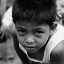 Boy Stares At My Lens @ Philippines