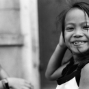 Girl Strokes A Pose @ Philippines