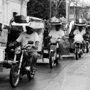 Trio Of Tricycles @ Philippines