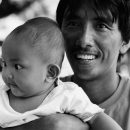 Father And His Baby @ Philippines