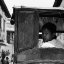 Man Looked Back On The Carriage @ Philippines
