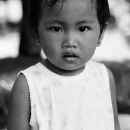 Straight Eye Of A Little Girl @ Philippines