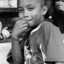 Boy Smiles Bashfully @ Philippines