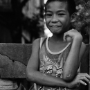 Lad With A Smile On His Lips @ Philippines