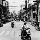 Motorbike Turns To The Left @ Philippines