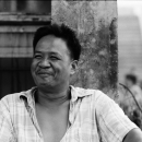 Smiling Man In The Market @ Philippines