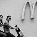 Big M And Motorbike @ Philippines
