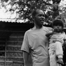 Father Holding His Little Daughter @ Philippines