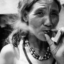 Smoking Woman @ Philippines