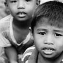 Boy With His Mouth Half Open @ Philippines
