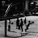 Silhouettes Under The Basket @ Philippines