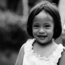 Carefree Smile Of Girl @ Philippines
