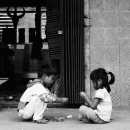 Boy And Girl Playing Together @ Philippines