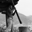 Threshing Man @ Philippines