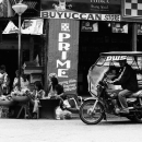 Hawkers And Tricycle @ Philippines