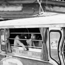 Car Window Of A Jeepney @ Philippines
