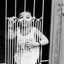 A Shy Boy By The Fence @ Malaysia